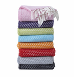 Polka Wool Throw
