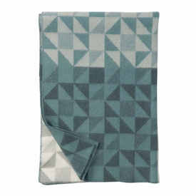 Shape Lambs Wool Blanket - 2 Colors - Click to enlarge