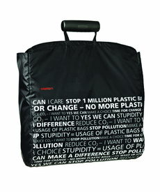 Shopper Shopping Bag, Black Statement - Click to enlarge