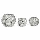 Snowball Votives, Set of 3