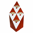 Swedish Wooden Modern Tomten Pyramid � Set of 4