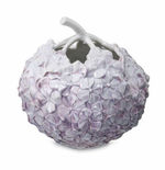 """The Art of Giving Flowers Hydrangea Vase 4"""" Lilac"""