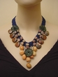 Hand Made Agate and Jasper Jewelry. Natural Gemstone Necklace.