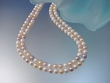 Natural Multicolor  Freshwater Pearl  Sterling Silver  Necklace