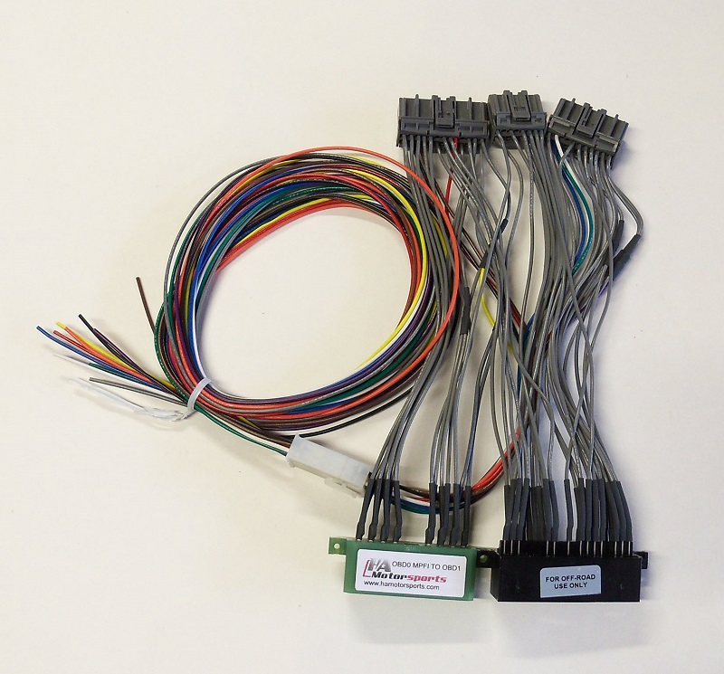 obd0 mpfi to obd1 ecu jumper harness ha motorsports