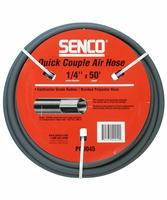 """SENCO PC0045 1/4"""" x 50' Gray Air Hose without Fittings"""