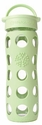 Spring Green Glass Beverage Bottle 16 oz