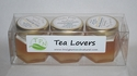 Tea Lovers Creamed Honey Gift Pack - Ginger, Mint, Lemon