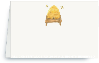 bee hive - place cards