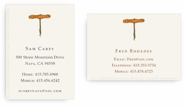 Corkscrew - Calling Cards