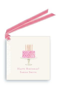 Gift tags- Pink Cake