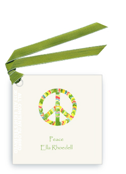 Gift Tags- Rasta Peace Sign