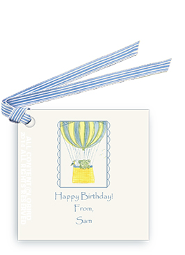 Lion Ballooning - gift tags