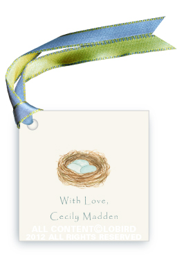 Robin's Nest - Gift Tags