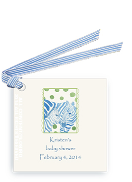 Zebra Mother & Child - Gift Tags
