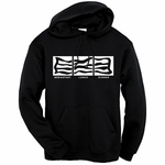 Bacon: Breakfast, Lunch, Dinner  Hooded Sweatshirt