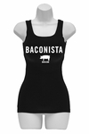 Baconista Womens Tank Top