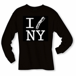 """I Bacon New York"" Long Sleeve Shirt"