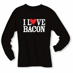 """I Love Bacon"" Long Sleeve Shirt"