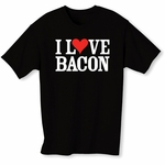"""I Love Bacon"" Men's T-Shirt"