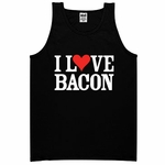 """I Love Bacon"" Men's Tank Top"