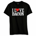 """I Love Bacon"" Women's Classic Fit T-Shirt"