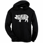 """Lovin' the Lard"" Hooded Sweatshirt"