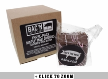 Maple Mallomore Flavored with Bacon - 3pk