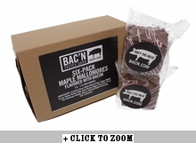 Maple Mallomore Flavored with Bacon - 6pk
