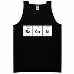 Periodic BaCoN Mens Tank Top - Black