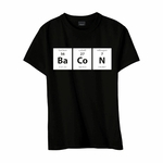 Periodic BaCoN Youth T-shirt - Black - Blue or Pink