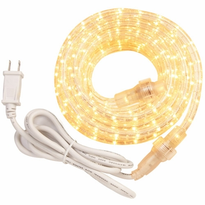 12 Foot Incandescent Rope Light Kit, Clear