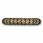 Decorative Weave Antique Brass - Hook - CLEARANCE SALE