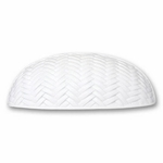 Decorative Weave White - Euro Pull - CLEARANCE SALE