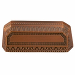 Filigree Border Antique Copper - Euro Pull - CLEARANCE SALE