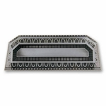 Filigree Border Antique Nickel - Euro Pull - CLEARANCE SALE