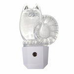 LED Acrylic Cat Night Light