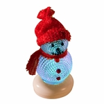 LED Color Changing Snowman Manual On/Off Table Light