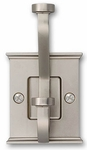 Mantel Satin Nickel - Hook - CLEARANCE SALE