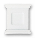Mantel White - Knob - CLEARANCE SALE
