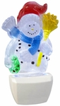 Snowman LED Night Light - CLEARANCE SALE