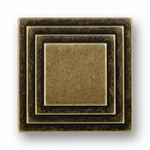 Steps Rustic Brass - Knob - CLEARANCE SALE