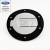 05-09 Ford Mustang Billet Fuel Door GT Logo Polished & Black