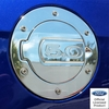 10-14 Ford Mustang Billet Fuel Door 5.0 Logo