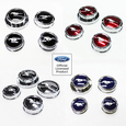 11-14 Mustang Cap Cover Set Chrome Ford Official Licensed