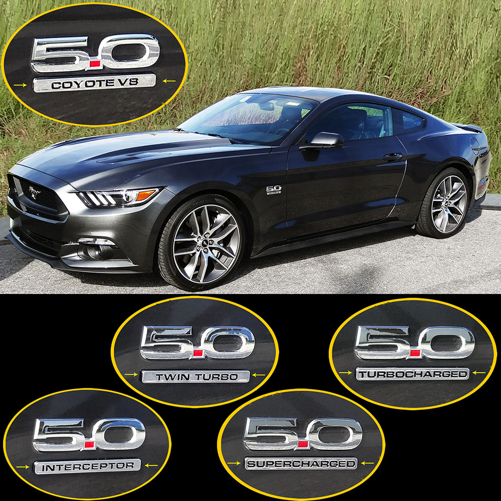 UPR Ecoboost Catch Can and UPR Turbocharged Emblems