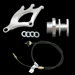 79-95 Mustang Quadrant Clutch Cable & Firewall Adjuster Kit