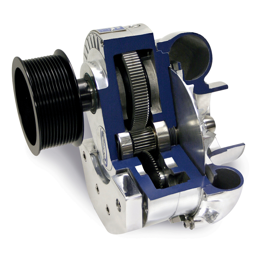 Centrifugal Supercharger Horsepower: 86-93 Mustang 5.0 ProCharger Supercharger Stage 2 D1SC Kit