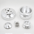 86-93 Ford Mustang Billet Aluminum Pulley Kit