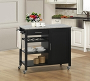 Calgary Kitchen Cart by Sunset Trading GRM-CRT-CAL-BLG-SET